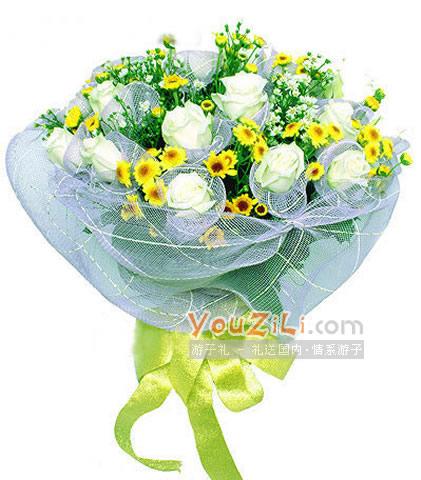 经磨难真情在 天长地久不分开-永不分开送中国大陆 鲜花