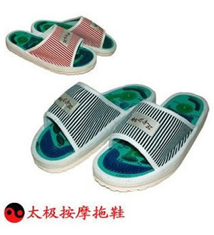 太极穴位按摩鞋