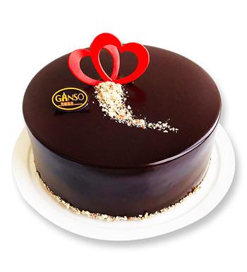 元祖巧克力蛋糕-单纯的心