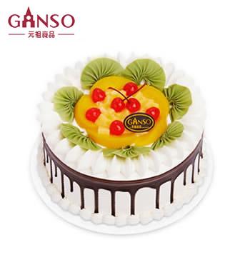 元祖鲜奶蛋糕-水果之恋