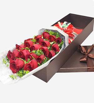 红玫瑰礼盒